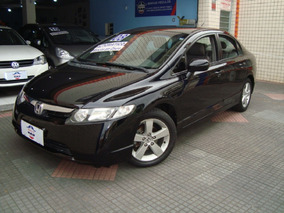New Civic Lxs 1.8 - 2008 - Automático+couro