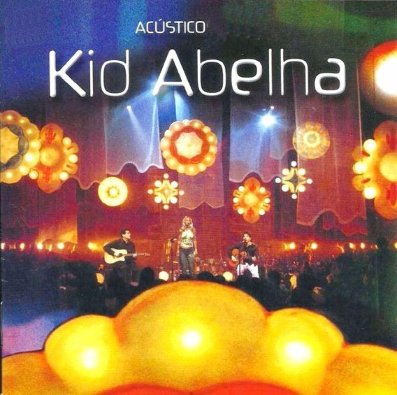 Kid Abelha Acustico 19 Cd Musicas Cd Original Novo Lacrado