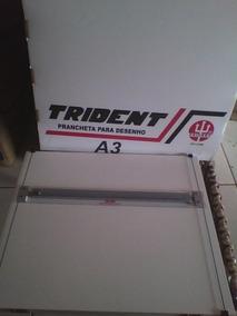 Prancheta Para Desenho Trident A3
