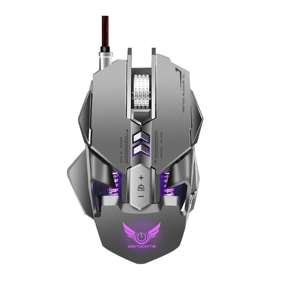 Zerodate X300gy Usb Wired Competitive Gaming Mouse