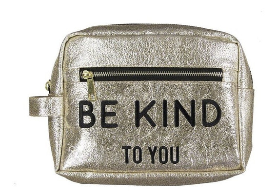 Sobre Be Kind (dorado & Negro)