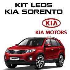 Kit De Led Sorento Completo + Kit Xenon Alto Baixo Milha