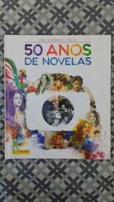 Album De Figurinhas 50 Anos De Novelas Panini Rede Globo