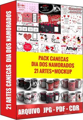 Dia Dos Namorados, Canecas, Pack Canecas