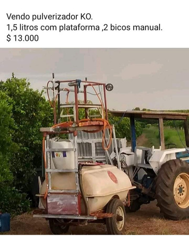 Pulverizador 2 Bicos