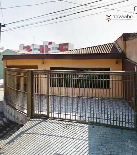 Casa Com 3 Dormitórios Para Alugar, 180 M² Por R$ 5.000/mês - Vila Assunção - Santo André/sp - Ca0141