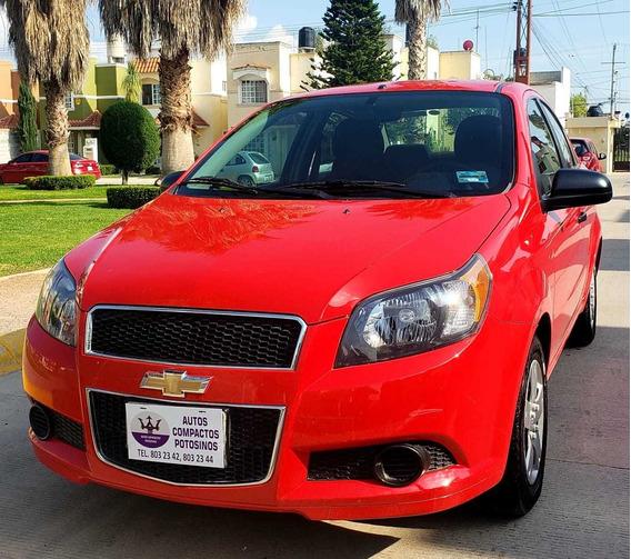 Chevrolet Aveo 1.6 Lt Bolsas De Aire Y Abs Nuevo Mt 2017