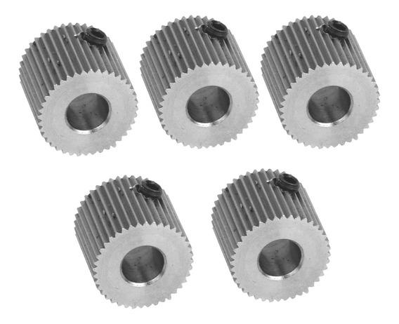 5x 40 Dentes Inoxidável Extrusora Engrenagem De Unidade Para
