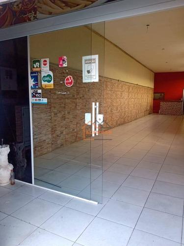 Salão Para Alugar, 120 M² Por R$ 3.500,00/mês - Chácara Santo Antônio (zona Leste) - São Paulo/sp - Sl0008