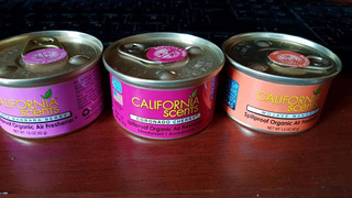 Latas Aromáticas Para Autos California Scents