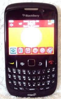 078 Cll- Um Blackberry- Claro- Na Caixa- Bb 8520 Smartphone
