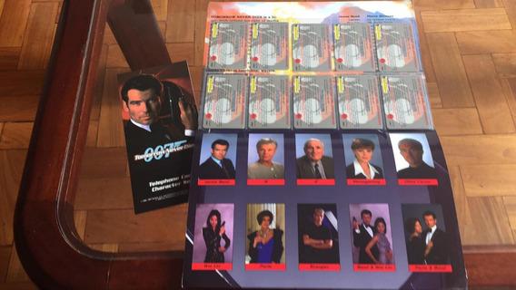 James Bond 007 Pierce Brosman Cartões Telefônicos Eua Raros