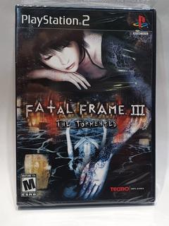 Fatal Frame Iii The Tormented Ps2 Nuevo Sellado Garantizado