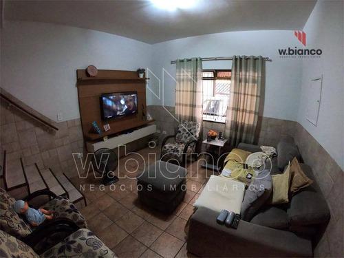 Sobrado Com 2 Dormitórios À Venda, 157 M² Por R$ 580.000 - Jardim Nova Petrópolis - São Bernardo Do Campo/sp - So0462
