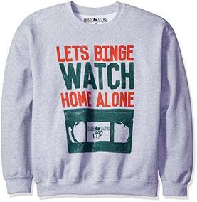 Sudadera De Navidad Home Alone Men Lone Binge Para Hombre, G