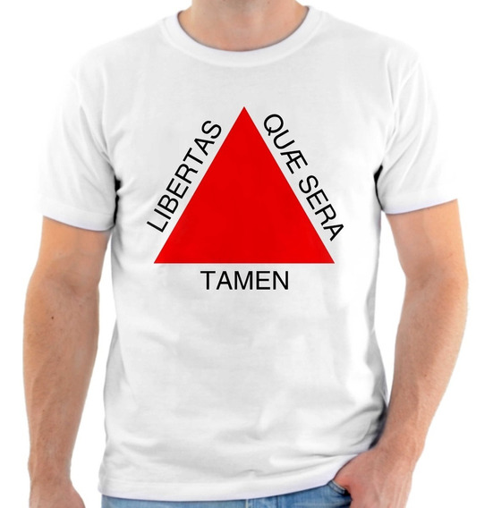 Camiseta, Camisa Bandeira De Minas Gerais