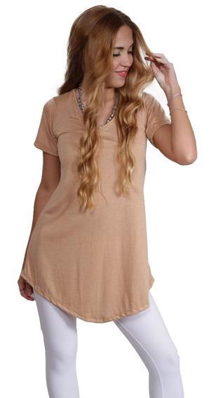 Remeron Vestido Ideal Para Calzas Viscosa Bordado Hastal Xxl