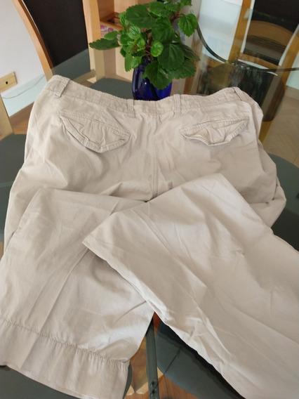 Pantalon De Gabardina Gap Gris