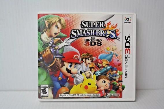 Super Smash Bros. - 3ds - Semi-novo - Original