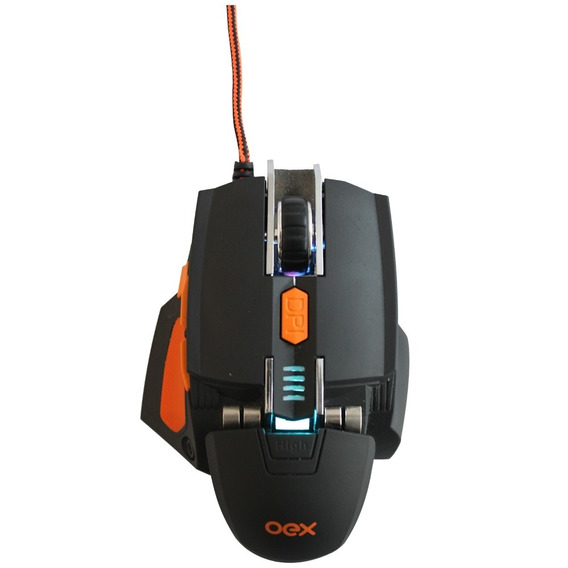 Mouse Usb Oex Cyber 5200dpi Ms306