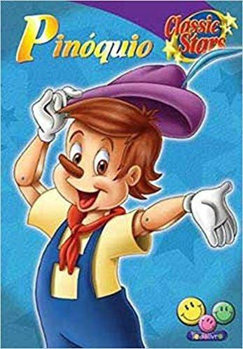 Livro Classic Stars Pinoquio Todo Livro