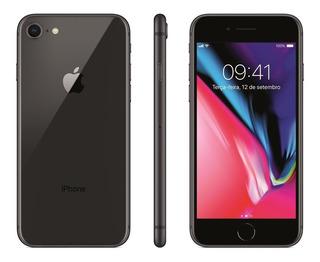 Celular Apple iPhone 8 64gb 2gb Ram 12mp Tela 4.7 Cinza