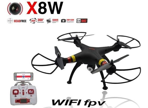 Drone Syma X8w Imagens Em Tempo Real
