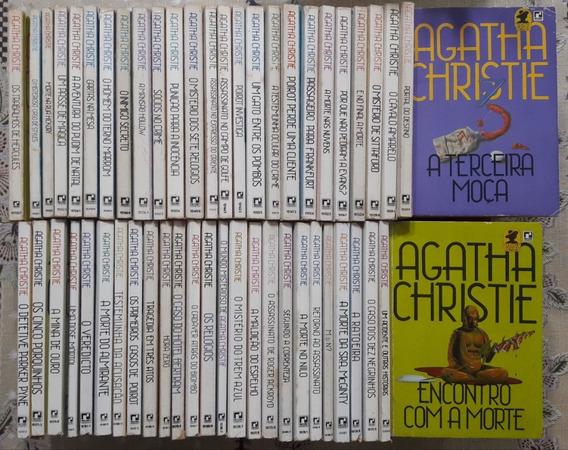 Agatha Christie - Coleção Com 68 Livros