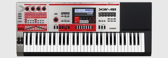 Teclado Sintetizador Casio Xw G1 + Fonte Com Nota Fiscal