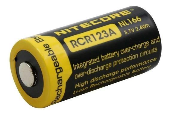 Bateria Recarregavel Nitecore Rcr123a 16340