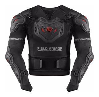 Armadura Corporal Icon Field Armor Stryker Rig Negra