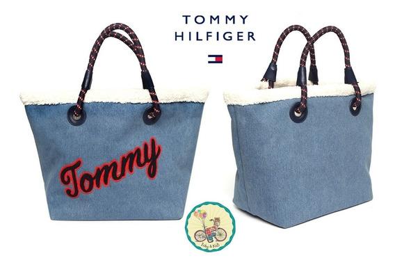 Bolsa Tote Denim Tommy Hilfiger