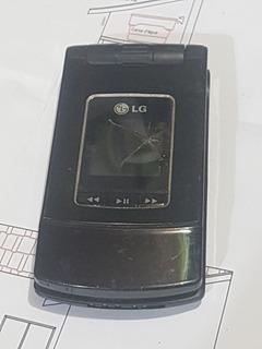 Celular Lg Mu500 Para Retirar Peças E Componentes Sucata