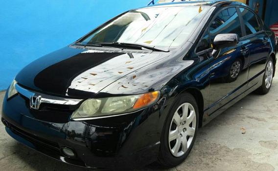 Honda Civic 2008 Bastante Cuidado Y Impecable Americano