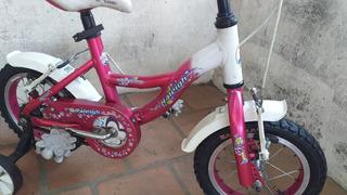 Bicicleta Raleigh De Nena Rodado 12 Excelente Estado!!