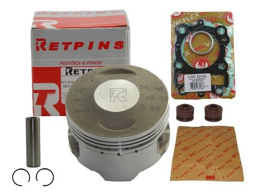 Imagem 1 de 3 de Kit Pistão E Anéis Stx 200 / Motard 200 0,75 - Retpins