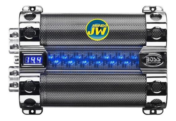Capacitor Boss 8 Faradios Con Led Nueva Generacion! Mundojw