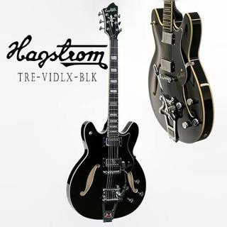 Hagstrom Tremar Viking Deluxe Electric Guitar Glossblack Msi