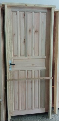 Puerta Ciega De Exterior Eucaliptus