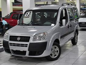 Fiat Doblo 1.8 16v Essence 2013 Prata Completo 6 Lugares