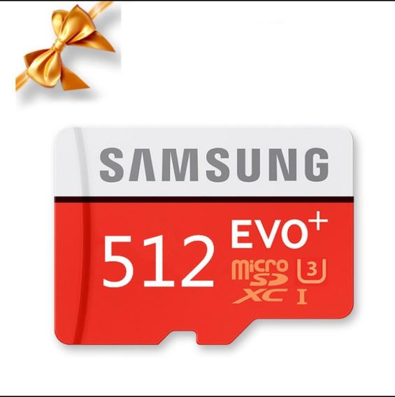 Samsung Evo + Classe 10 Micro Sd 512gb Tf Cartão Sd Cartão