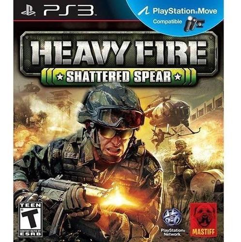 Jogo Heavy Fire Shattered Spear Ps3 (novo Lacrado)