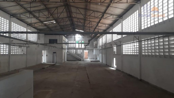 Galpão Para Alugar, 580 M² Por R$ 4.500,00/mês - João Xxiii - Fortaleza/ce - Ga0102
