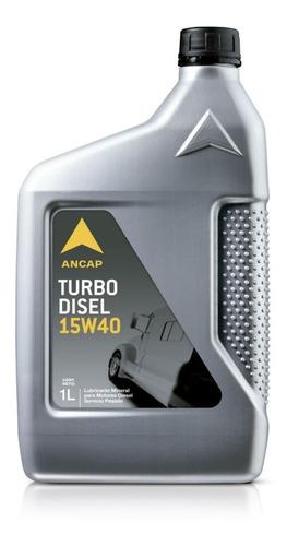 Aceite Motor Diesel 15w40 Turbo Disel Ancap Lubricante 1 Lt