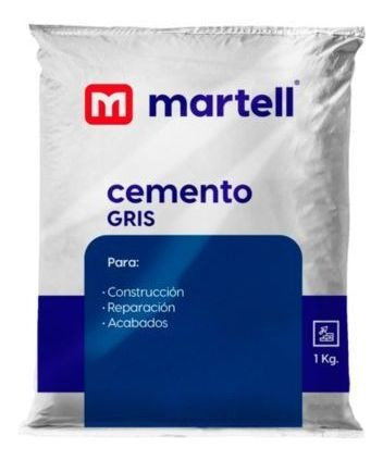 Cemento Gris X 1 Kg Consult Stock