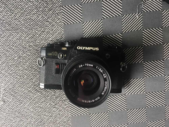 Câmera Analógica Olympus Om 10