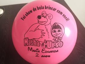 Kit 30 Bolas De Vinil Personalizadas Para Festas