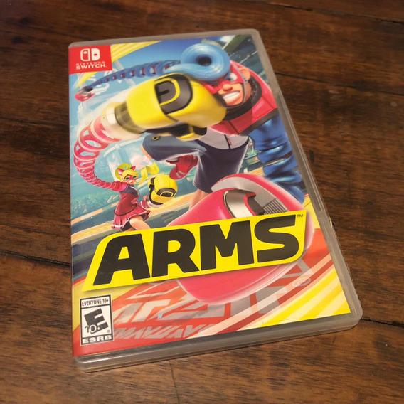 Arms Nintendo Switch Mídia Física Perfeito