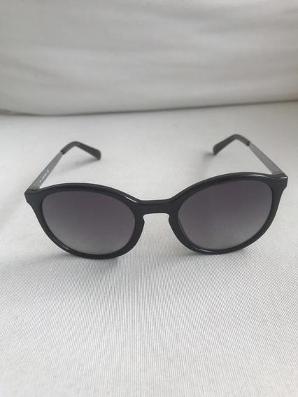 Óculos De Sol Calvin Klein Preto R725s Original