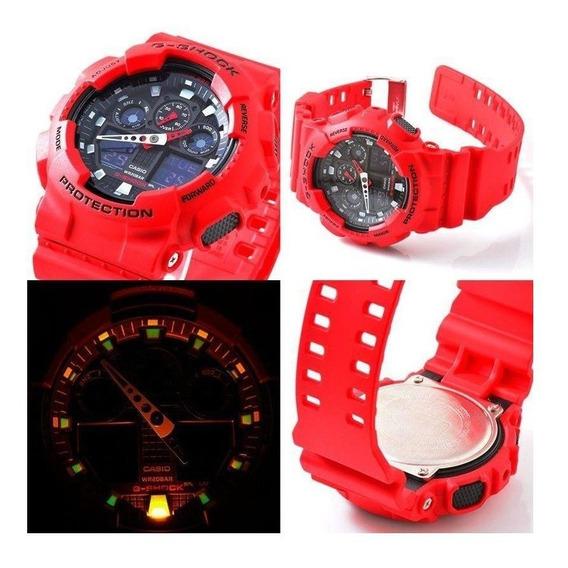 R$ 600 Relógio Casio G-shock Ga-100